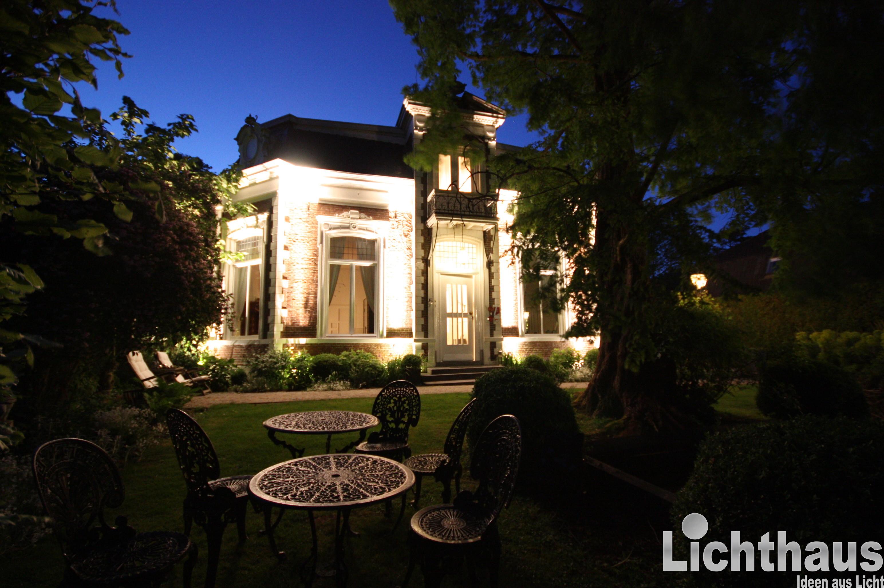 Geräumig Gartenbeleuchtung Ideen Galerie Von Außen &